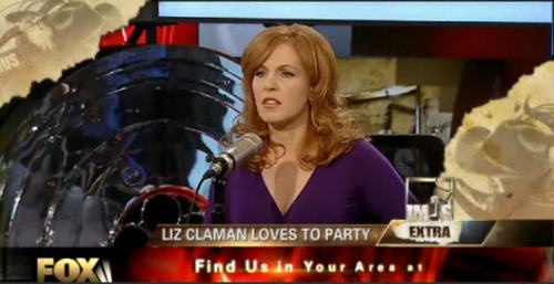 Liz Claman Loves 2 Party